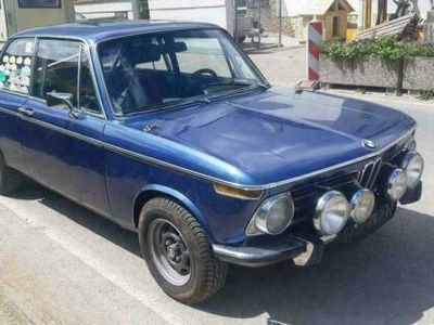 gebraucht BMW 2002 ti BJ 1970 Rallye Alpina blau 5 G...