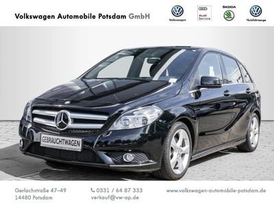 gebraucht Mercedes B200 BlueEfficiency Navi AHK Sitzheizung Einparkhilfe
