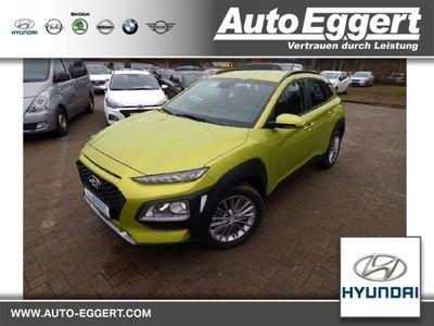 gebraucht Hyundai Kona Trend 4WD 1.6 T-GDI Rückfahrkam. Allrad LED-Tagfahrlicht Multif.Lenkrad RDC Alarm
