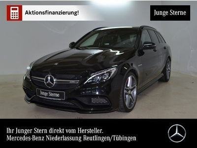 gebraucht Mercedes C63 AMG AMG S T Driversp Perf-Sitze+Abgas 360° HUD