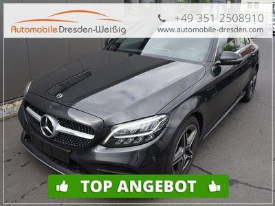 gebraucht Mercedes C220 d BlueTec 2 x AMG 9G Tronic WLTP2*LED*