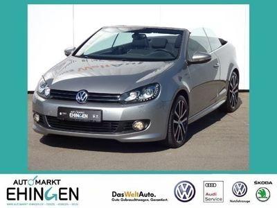 gebraucht VW Golf Cabriolet 1.4 TSI Navi Xenon Lounge 5J Gara