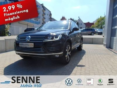 gebraucht VW Touareg R-Line, Luft, Panorama, ACC, AHK, Navi