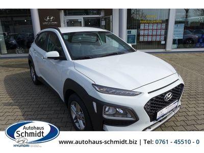 gebraucht Hyundai Kona Soko Navi 2WD 1.0 T-GDI Rückfahrkam. LED-Tagfahrlicht Multif.Lenkrad RDC Alarm