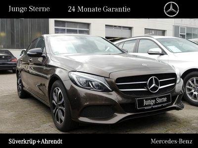 gebraucht Mercedes C200 Avantgarde Night Navi LED Parkpilot SHZ