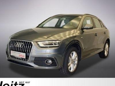 gebraucht Audi Q3 2.0 TDI quattro S tronic S line Navi Leder Side