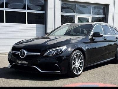 gebraucht Mercedes C63 AMG T AMG ***Neupreis 98.395,-***Leder braun