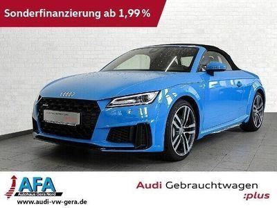 gebraucht Audi TT Roadster 45 TFSI quattro S tronic S-Line*19Zoll*opt.schwarz*Navi+