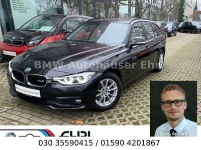 gebraucht BMW 318 d Touring Advantage Aut.LED Navi PDC Tempomat