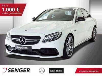 gebraucht Mercedes C63 AMG AMG+ PANOSHD+BURMESTER+LED+NAVI+AUTOMATIK