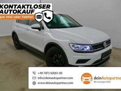 gebraucht VW Tiguan Neu 2.0 TDI DSG Highline Leder StandHzg.