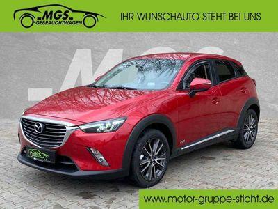 gebraucht Mazda CX-3 SKYACTIV-G 150 AWD Sports-Line #LED #NAVI, Gebrauchtwagen, bei MGS Motor Gruppe Sticht GmbH & Co. KG