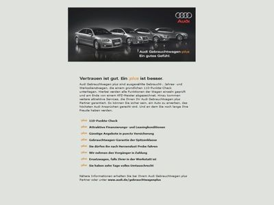 gebraucht Audi TT Roadster 2.0 TDI 3x S-line LED+Parkassistent+
