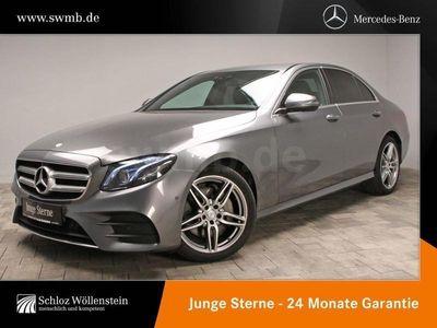 gebraucht Mercedes E220 4M AMG Comand/360°/HUD/LED/Keyless/PDC