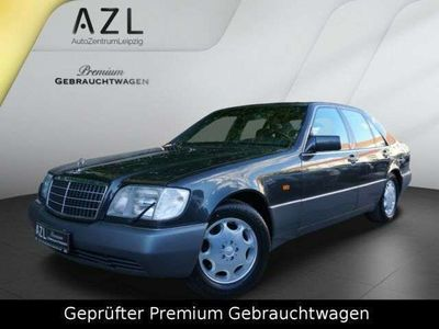 gebraucht Mercedes S600 600 SE W140 *LEDER KLIMA AUTOM. SRA ROSTFREI*