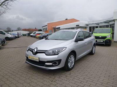 gebraucht Renault Mégane Kombi 1.5 dCi FAP Limited Deluxe Klima