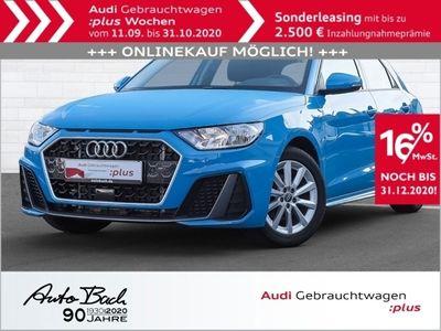 gebraucht Audi A1 Sportback S line 30TFSI GRA EPH Sitzhzg Klima