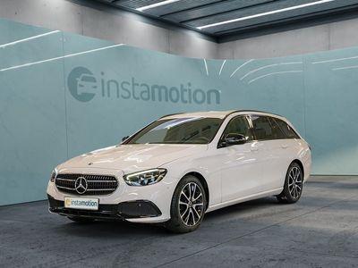 gebraucht Mercedes E220 E220 T d Avantgarde Night AHK LED+ Wides Kamera