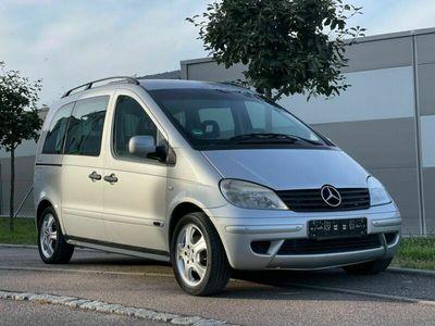 gebraucht Mercedes Vaneo Compact Van 1.9 Schiebedach Klima