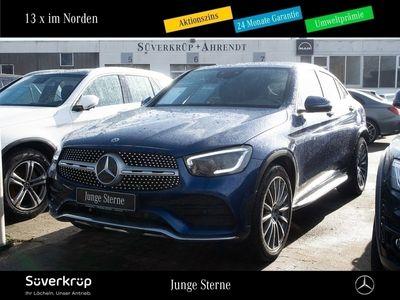 gebraucht Mercedes 200 GLC4M Coupé AMG Line Distronic MBUX LED 20'