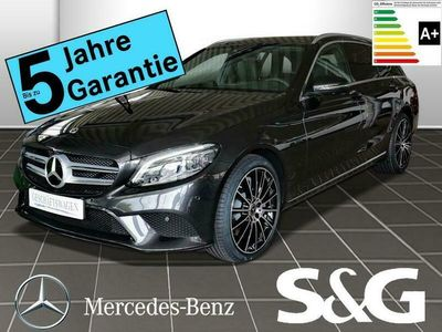 gebraucht Mercedes C300 de T AVANTGARDE MBUX+360°+LED+AHK+Airmatik