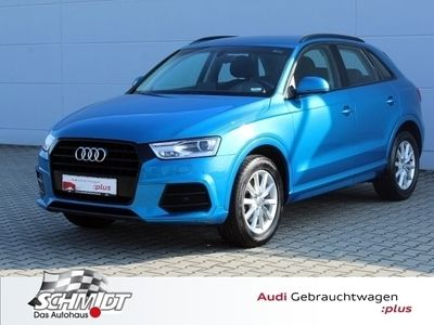gebraucht Audi Q3 Sport 1.4 TFSI Xenon PDC Optikpaket Schwarz