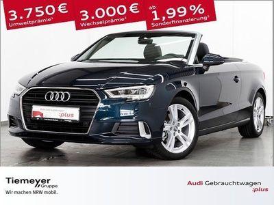 gebraucht Audi A3 Cabriolet 1.5 TFSI SPORT LED AHK KOPFHZG