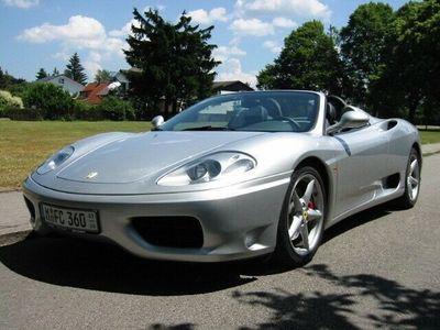 gebraucht Ferrari 360 Spider 1.Hand, unfallfrei, Scheckheft!