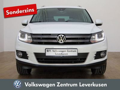 gebraucht VW Tiguan 2.0 TDI Sport Style 4MOTION SHZ XENON - Leder,Klima,Xenon,Sitzheizung,Alu,Servo,
