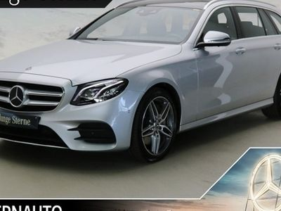 gebraucht Mercedes E350 T 4M AMG Line Distr Pano Wide 360 Cam AHK