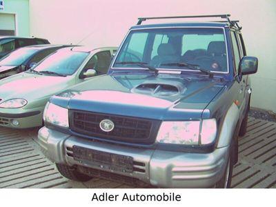 gebraucht Hyundai Galloper 2,5 TD (5-Gang) Allrad ,Klima AHK