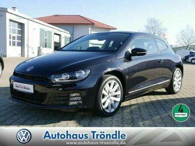 gebraucht VW Scirocco 2.0 TDI Euro 6 Navi Klima Einparkhilfe