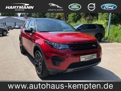 gebraucht Land Rover Discovery Sport TD4 SE Black Edition Bluetooth