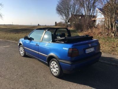 gebraucht VW Golf Cabriolet 1.8 Sport Edition