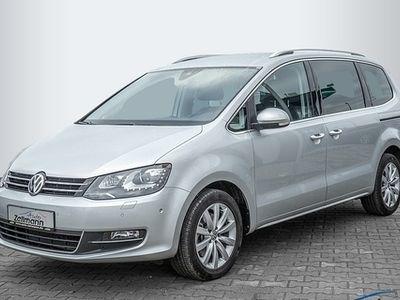 gebraucht VW Sharan Highline 2.0 TDI BMT Start-Stopp Bi-Xenon Front- & Rückfahrkame