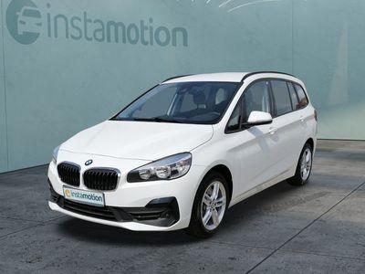 gebraucht BMW 218 Gran Tourer 218 Gran Tourer d Advantage EU6d-T Navi El. Heckklappe PDCv+h LED-Tagfahrlicht Multif.Lenkrad