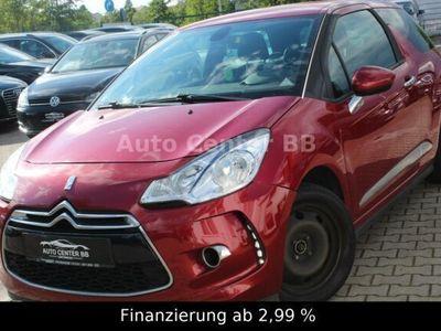 gebraucht Citroën DS3 SoChic 1.6 Sport-Design-Paket*KLIMA*99TKM*