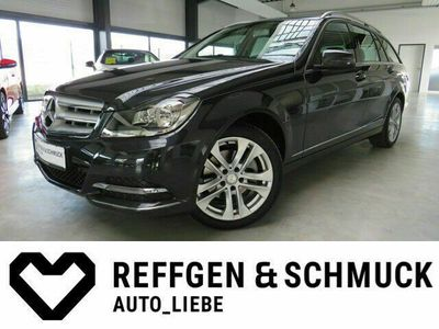 gebraucht Mercedes C200 T BE AVANTGARDE AUTOMAT+TEILLEDER+NAVI+ALU