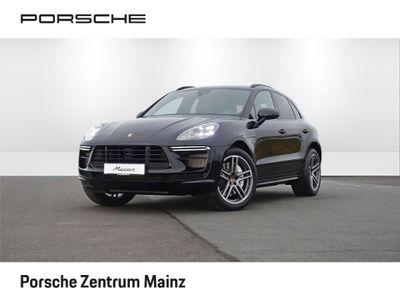 gebraucht Porsche Macan Turbo LED Luftfederung Standheizung 20-Zoll