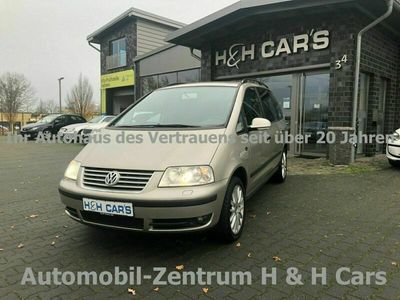 gebraucht VW Sharan 2.0 TDI Trendline Xenon 7-Sitzer DPF Alu als Van/Kleinbus in Uelzen