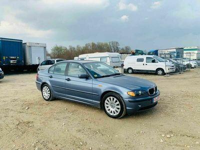 gebraucht BMW 320 d DIESEL LIMOUSIN 5 TURE BJ-2002 KLIMA 150 PS