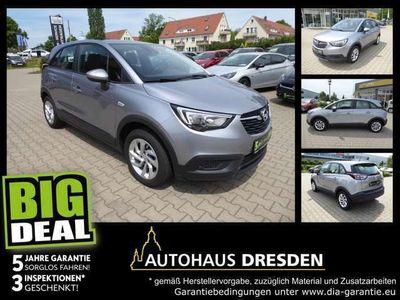 gebraucht Opel Crossland X 1.2 Turbo Edition *Bremsass*Spurh.*