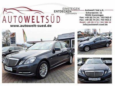 gebraucht Mercedes E350 CDI Elegance StHz Com Air 2xSpur ILS 3xAC BiXen