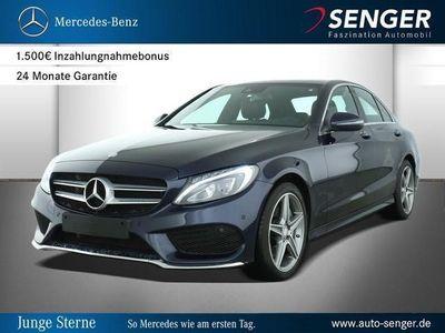 gebraucht Mercedes C250 d Limousine Park-Assist AMG AMG line