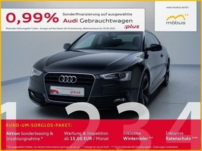 gebraucht Audi A5 Coupe 2.0 TDI XEN*STANDHZ*GRA*ALCANTARA*PDC