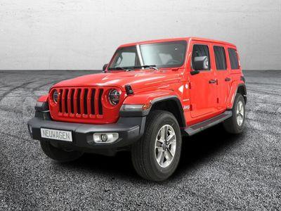 gebraucht Jeep Wrangler Unlimited Sahara JL UVP 62.100,00 Eu...