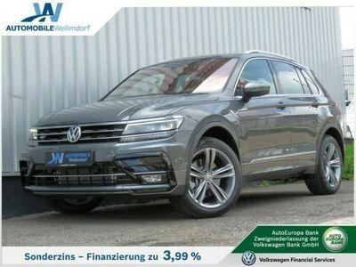 gebraucht VW Tiguan 2.0TDI DSG 4M High. R-Line AHK Pano el.HK