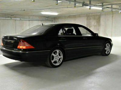 gebraucht Mercedes S500L W220V8 MOPF 2003, AHK,TÜV