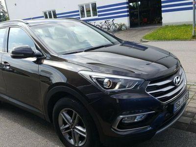 gebraucht Hyundai Santa Fe blue 2.2 CRDI 2WD Family