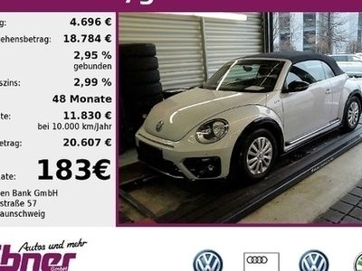 gebraucht VW Beetle Cabriolet R-LINE 1.4TSI 150PS NAVI,SITZHZG,2xPDC,